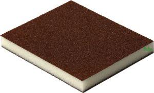 Купить Двухсторонняя абразивная губка Flexifoam Red Soft Pad, 120x98x13мм, P80 - Vait.ua
