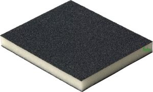 Купить Двухсторонняя абразивная губка Flexifoam Soft Pad, 120x98x13мм, P180 - Vait.ua