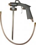 Пистолет под гравитекс G-tex 167 пневматический, с гибкой насадкой
