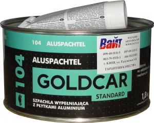 Купить Шпатлёвка с алюминием Alu GOLD CAR, 1,8кг - Vait.ua