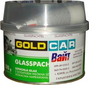 Купить Шпатлевка со стекловолокном GOLD CAR GLASS, 0,5 кг - Vait.ua