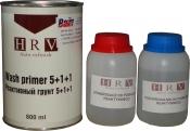 Грунт протравливающий реактивный HRV 5+1 (0,8л) + отвердитель + растворитель (0,16л)