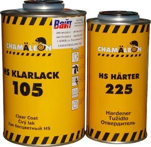 Купить Бесцветный лак HS Clarlack Chamaleon 105 (1л) с отвердителем 225 (0,5л) - Vait.ua