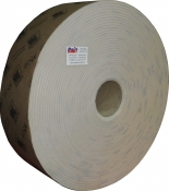 Абразивная бумага в рулоне на поролоне без перфорации INDASA RHYNOSOFT rhynalox plus line (без упаковки), 115мм x 25м, P180