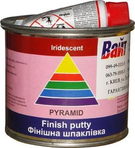 Купить Шпатлевка финишная Iridescent Pyramid STANDART FINISH PUTTY, 0,25 кг - Vait.ua