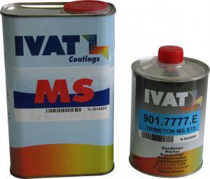 Купить Лак акриловый Ivat MS (1л) + отвердитель (0,5л) - Vait.ua