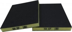 Купить Шлифовальный мат 2-х сторонний KAEF (серия 100) 120 х 98 х 13 мм, К120 (Р240) - Vait.ua