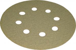 Купить Абразивный диск для сухой шлифовки KAEF, диаметр 125 мм (8 отверстий), P80 - Vait.ua