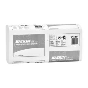 Купить Katrin 34520 Полотенца бумажные Plus One stop M 2 (145 салфеток) - Vait.ua