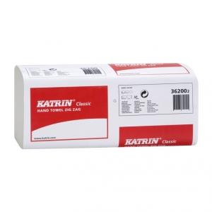 Купить Katrin 36200 Полотенца бумажные Classic Zig zag (200 салфеток) - Vait.ua