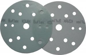 Купить Полировальный абразивный диск KOVAX BUFLEX DRY GREEN (зеленый), D152mm, 15 отверстий, P2500 - Vait.ua