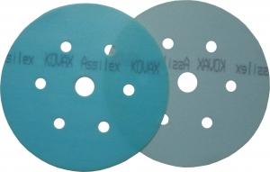 Купить Круг матирующий KOVAX SUPER ASSILEX SKY (голубой), D152mm, 7 отверстий, P500 - Vait.ua