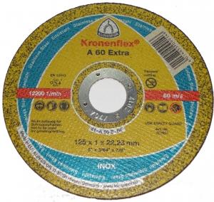Купить Круг отрезной по металлу «Kronenflex», 125мм х 1,6мм - Vait.ua