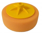 Круг полировочный, крепление резьба М14, d 150мм, оранжевый