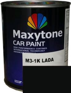 """Купить 601 Акриловая автоэмаль Maxytone 2К Acryl Autolack """"Черный"""" в комплекте с отвердителем - Vait.ua"""