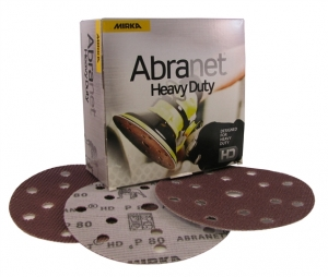 Купить Абразивные диски Mirka Abranet® Heavi Duty, P180, d150мм, 15 отверстий - Vait.ua