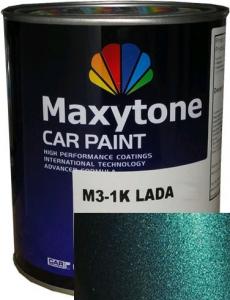 """Купить 385 Базовое покрытие """"металлик"""" Maxytone 1K- Basis Autolack """"Изумруд"""", 1л - Vait.ua"""
