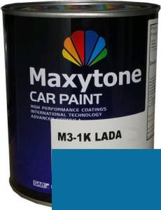 """Купить 428 Акриловая автоэмаль Maxytone 2К Acryl Autolack """"Голубая"""" в комплекте с отвердителем - Vait.ua"""