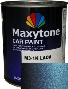 """Купить 487 Базовое покрытие """"металлик"""" Maxytone 1K- Basis Autolack """"Лагуна"""", 1л - Vait.ua"""