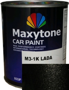 """Купить 635 Базовое покрытие """"металлик"""" Maxytone 1K- Basis Autolack """"Черный шоколад"""", 1л - Vait.ua"""