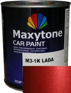 """Купить Daewoo 74U Базовое покрытие """"металлик"""" Maxytone 1K- Basis Autolack """"Spinal Red Met"""", 1л - Vait.ua"""
