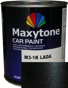 """Купить Skoda 9910 Базовое покрытие """"металлик"""" Maxytone 1K- Basis Autolack """"Skoda 9910 Black Magic"""", 1л - Vait.ua"""
