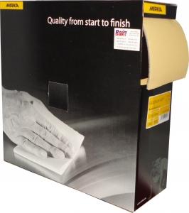 Купить Абразивная бумага в рулоне на поролоне без перфорации Mirka GOLDFLEX-SOFT 115мм x 25м, P320 - Vait.ua