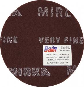 Купить Скотч-брайт MIRKA MIRLON (красный VF) для матованиня поверхности, диаметр150мм, P360 - Vait.ua