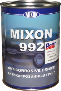 Купить Однокомпонентный антикоррозийный нитро грунт MIXON 992, 0,7л, черный - Vait.ua
