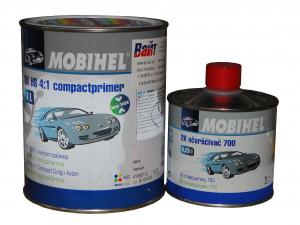 Купить MOBIHEL 2K HS вторичная грунтовка 3:1 W/W low VOC (0,75л) + отвердитель 700 (0,25л), глянцевая серая - Vait.ua