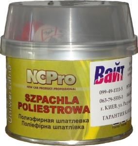 Купить Шпатлевка универсальная полиэфирная UNI NCPro, 0,21кг - Vait.ua