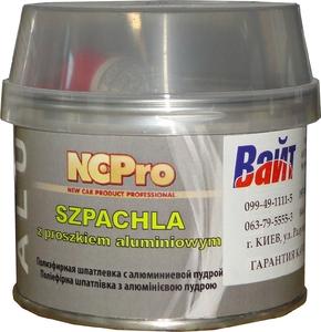 Купить Шпатлевка полиэфирная с алюминиевой пудрой ALU NCPro, 0,21кг - Vait.ua