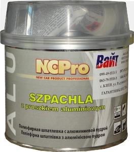 Купить Шпатлевка полиэфирная с алюминиевой пудрой ALU NCPro, 0,75кг - Vait.ua