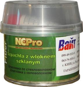 Купить Шпатлевка со стекловолокном FIBER NCPro, 0,75кг - Vait.ua