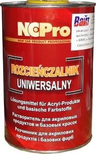 Купить Растворитель универсальный NCPro для акриловых и базовых продуктов, 1л - Vait.ua