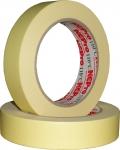 Лента малярная маскирующая (желтая) NCPro 80°C, 24мм х 45м
