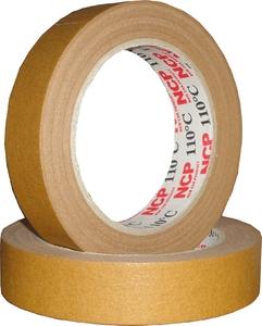 Купить Лента малярная маскирующая (коричневая) NCP 110°C, 24мм х 50м - Vait.ua
