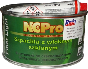 Купить Шпатлевка облегченная со стекловолокном FIBER LIGHT NCPro, 1,2кг - Vait.ua