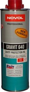 Купить Средство для защиты закрытых профилей кузова NOVOL GRAVIT 640, 1л - Vait.ua
