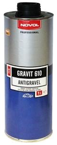 Купить 37941 Антигравийное покрытие HS - Novol GRAVIT 610 черное, 1л - Vait.ua
