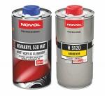 Матовый акриловый лак NOVOL NOVAKRYL 530 MAT (0,5л) + отвердитель (0,5л)