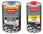 Бесцветный акриловый лак Novakryl 540 + отвердитель H5140 Novakry 540