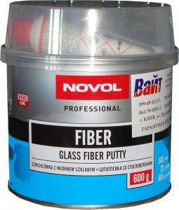 Купить Шпатлёвка Novol FIBER со стекловолокном, 0,6 кг - Vait.ua