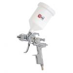 HVLP STEEL PROF Краскопульт пневматический INTERTOOL PT-0103, пластиковый бачек, 1,4мм