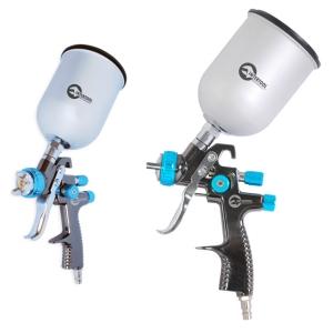 Купить LVLP BLUE NEW Краскопульт INTERTOOL PT-0133, верхний металлический бачек, 1,4мм - Vait.ua