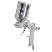 HP STEEL 100 Краскопульт INTERTOOL PT-0201, верхний металлический бачек, 1,0мм