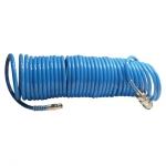Шланг спиральный с быстроразъемным соединением INTERTOOL PT-1706, полиуретановый, 5м