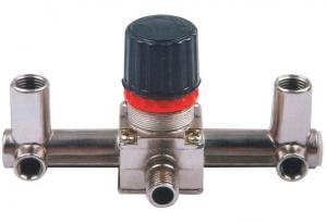 Купить Контрольно-распределительный блок компрессора Intertool PT-9091 с регулятором давления - Vait.ua