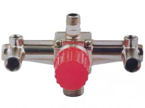 Купить Контрольно-распределительный блок компрессора Intertool PT-9092 с регулятором давления - Vait.ua