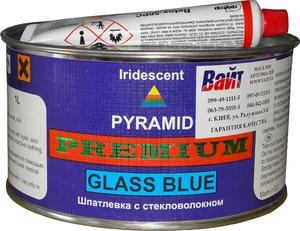 Купить Шпатлевка со стекловолокном Pyramid GLASS BLUE PREMIUM, 1л - Vait.ua